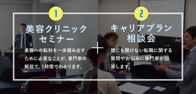 美容クリニック セミナー+キャリアプラン 相談会