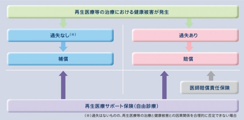 (再生医療サポート保険の特長)